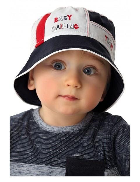 Bawełniany kapelusz dla niemowlaka5X34BM