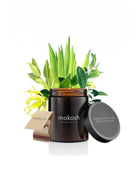 Roślinna świeca sojowa Śródziemnomorski gaj MOKOSH- 140 g