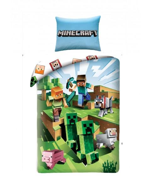 Pościel chłopięca Minecraft 140x200cm+70x90cm