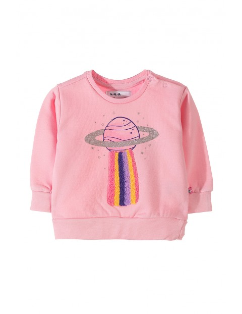 Bluza dresowe dla dziewczynki 5F3509