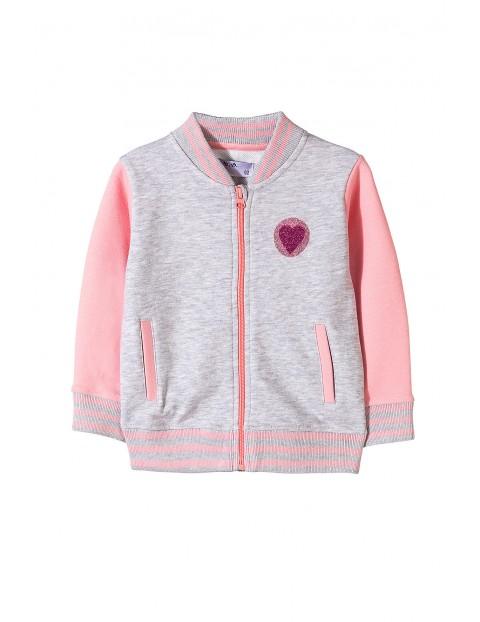 Bluza rozpinana dziewczęca 3F3501
