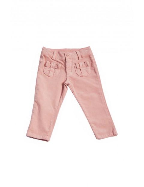 Spodnie dziewczęce 100% bawełna 3L35BC