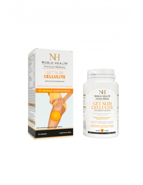 Get Slim Cellulite  Noble Health 45 kapsułek