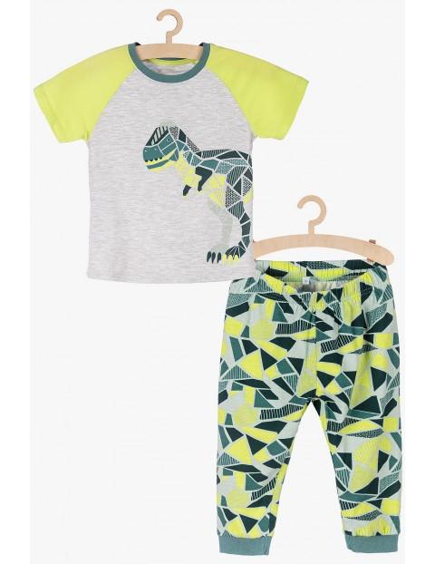 Pidżama chłopięca z dinozaurem