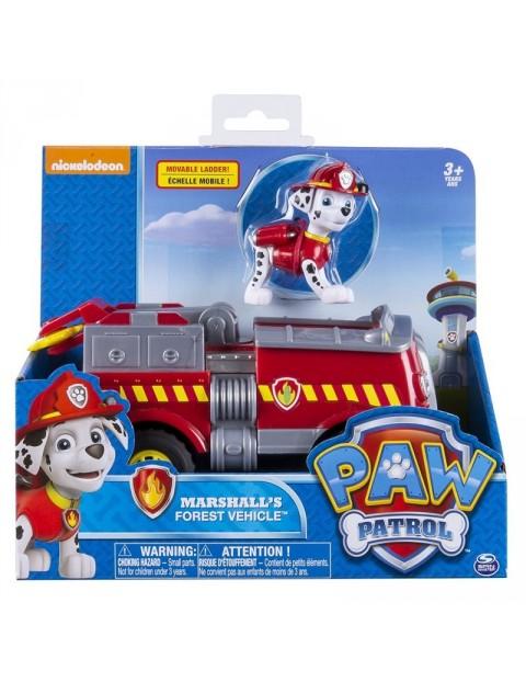 Psi Patrol Pojazdy z figurkami Marshall