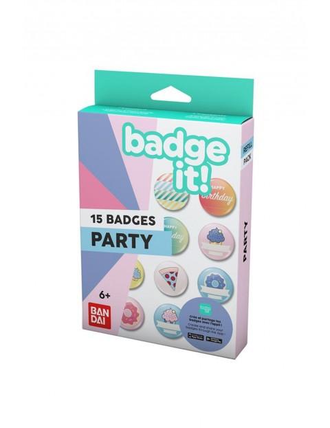 BadgeIt! Party - zestaw przypinek