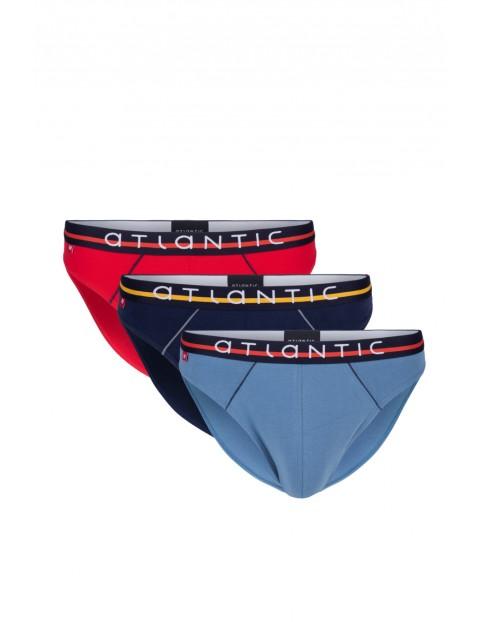 Slipy męskie Atlantic 3pak