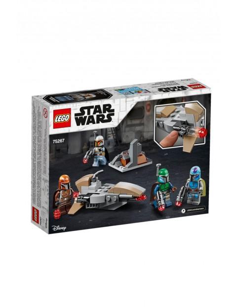 Lego Star Wars 75267 - Zestaw bojowy Mandalorianina - 102 elementy wiek 6+