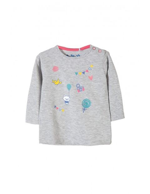 Bluzka niemowlęca długi rękaw 5H3202