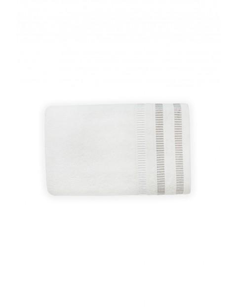 Ręcznik SAGITTA mleczna pianka- biały 70X140cm