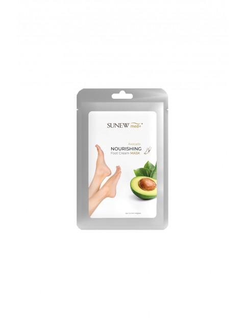 Intensywnie nawilżająca i odżywcza – odmładzająca MASKA DO STÓP z olejkiem z avocado