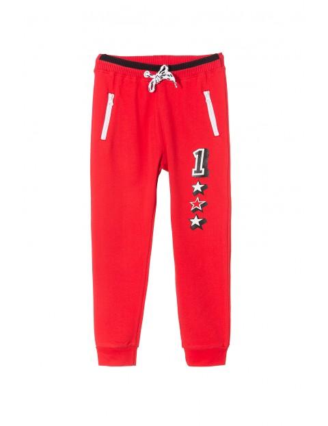 Spodnie dresowe chłopięce 1M3437
