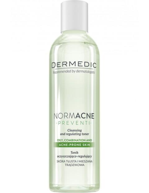 Tonik oczyszczająco-regulujący NORMACNE Dermedic 200 ml