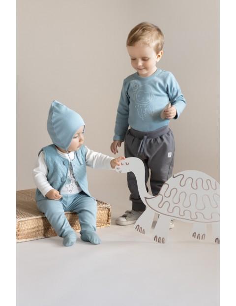 Kamizelka niemowlęca SLOW LIFE - niebieska