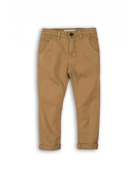 Spodnie chłopięce - brązowe chinosy
