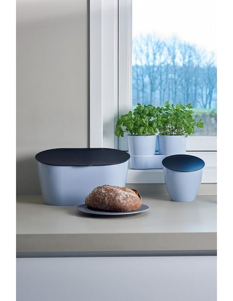 Doniczka na zioła podwójna- nordic blue