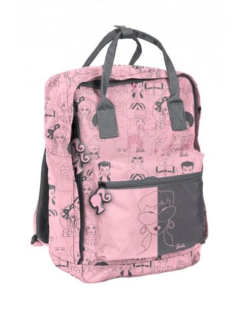 Plecak szkolny młodzieżowy Barbie różowy