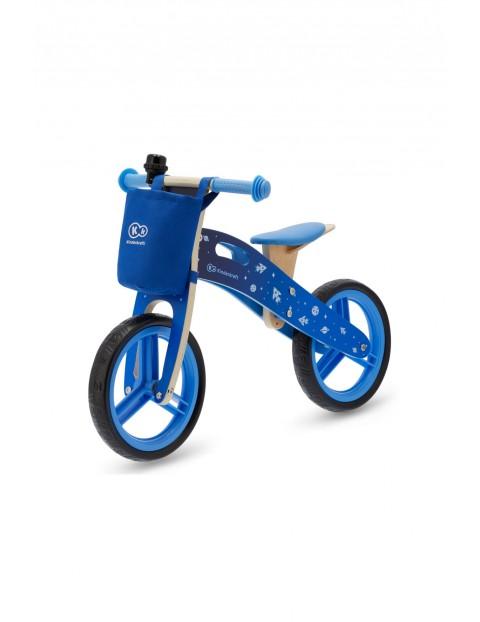 Rowerek biegowy Runner Galaxy niebieski z akcesoriami Kinderkraft