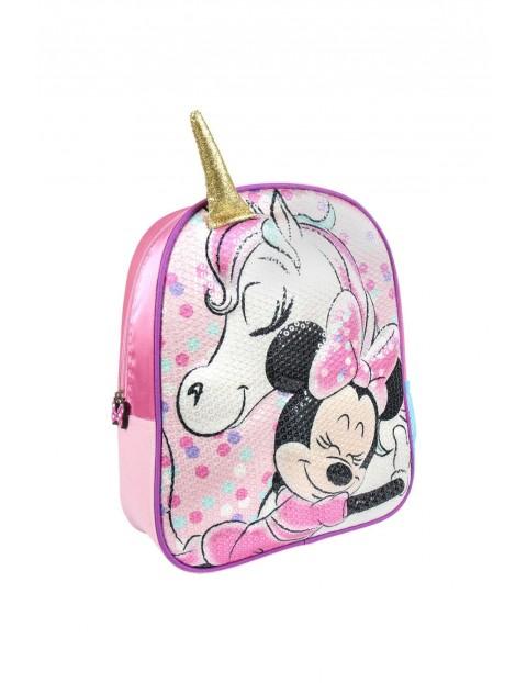 Plecak 3D Minnie z jednorożcem