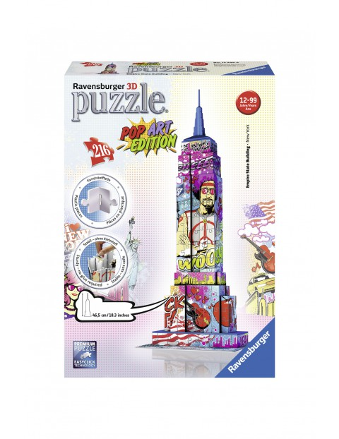 Puzzle 3D Empire State Building 2Y31A7