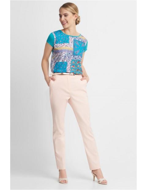 Długie eleganckie spodnie damskie