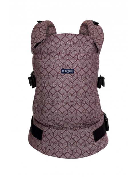 Nosidełko Zaffiro CARE geo burgund 6-18kg