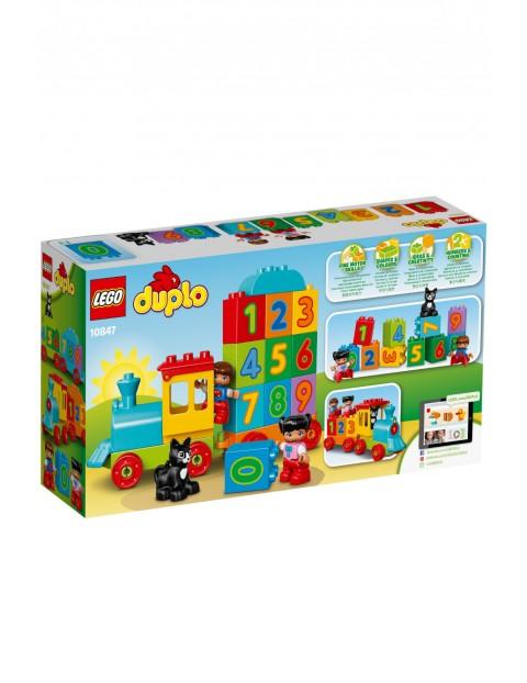 Lego Duplo - Pociąg z cyferkami - 23 elementy wiek 18msc+