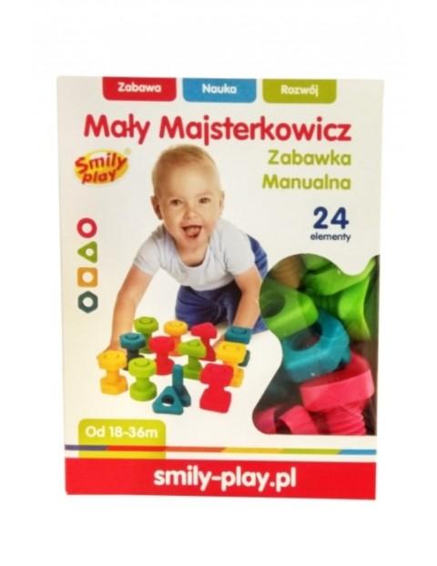Zabawka manualna - Mały majsterkowicz Smily Play wiek 18msc+