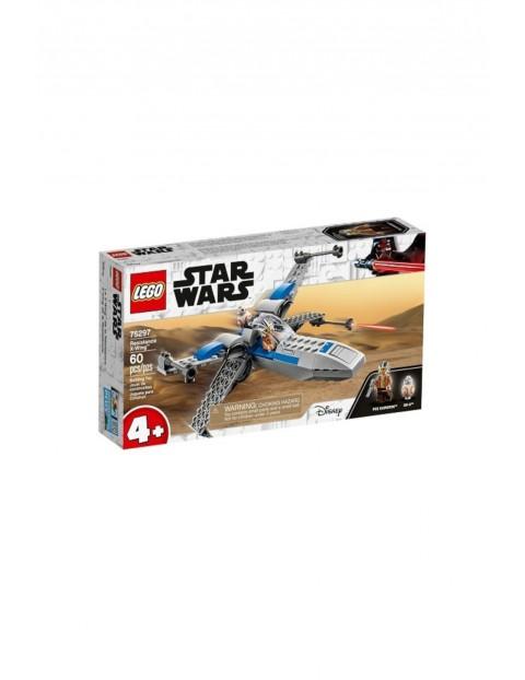 Klocki LEGO Star Wars -  X-Wing™ Ruchu Oporu - 60 el wiek 4+
