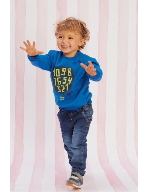 Bluza dresowa niemowlęca z nadrukiem