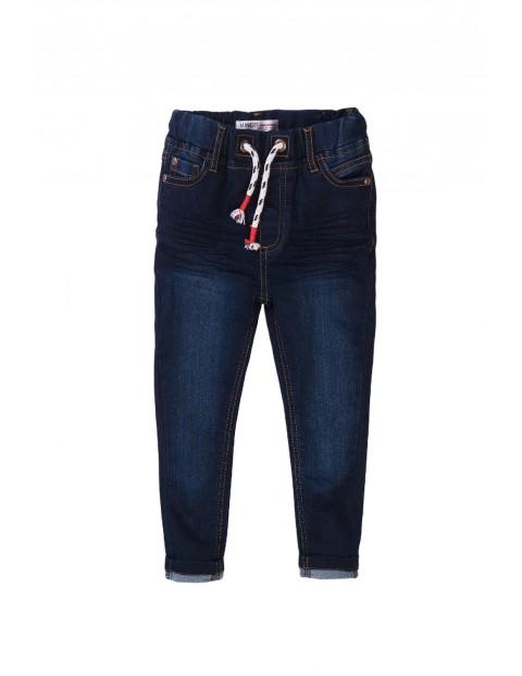 Spodnie chłopięce jeansowe - granatowe