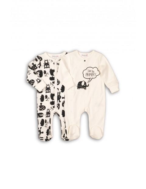 Pajace dla niemowlaka 2pak