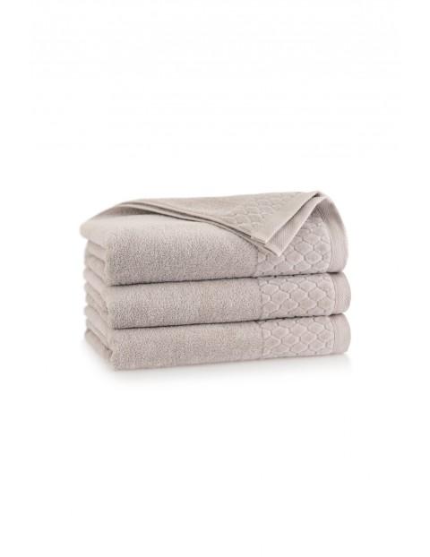 Ręcznik antybakteryjny Carlo z bawełny egipskiej sepia- 50x100 cm