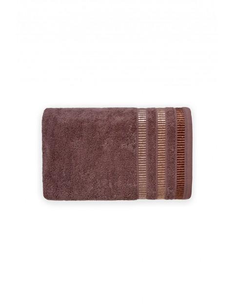 Ręcznik bawełniany SAGITTA czekoladowy 70X140cm