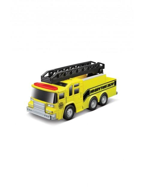 Ciężarówka ratunkowa z dźwiękiem żółta