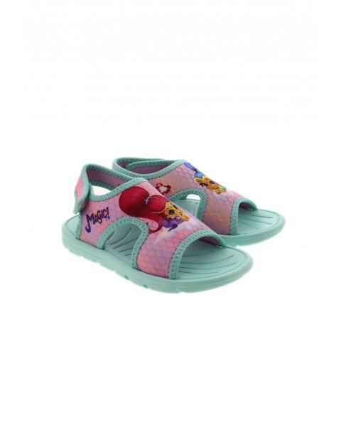 Kolorowe sandały dziewczęce Shimmer