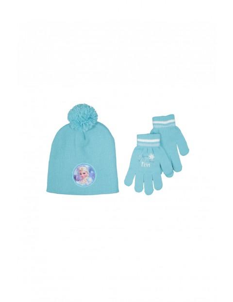 Komplet Czapka+rękawiczki Frozen
