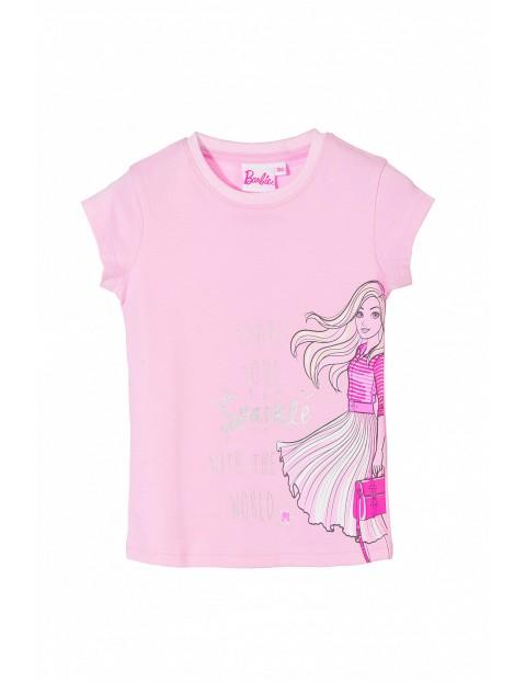 T-shirt dziewczecy Barbie 3I3522