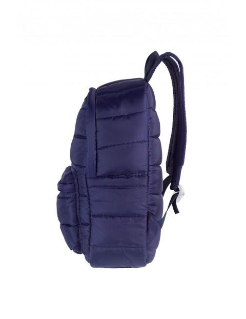 Plecak szkolny młodzieżowy Ruby granatowy