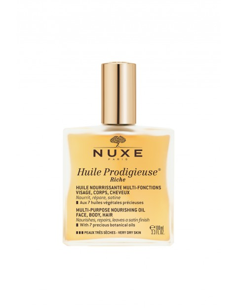 Nuxe Huile Prodigieuse Riche Intensywnie odżywiający olejek o wielu zastosowaniach 100 ml