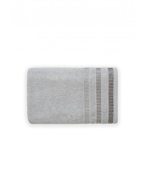 Ręcznik bawełniany SAGITTA szary 70X140cm