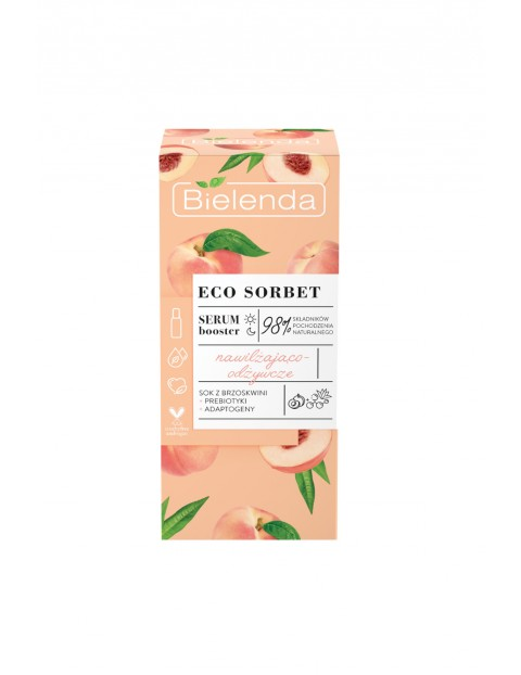 ECO SORBET Brzoskwinia - serum booster - nawilżająco-odżywcze 30 ml