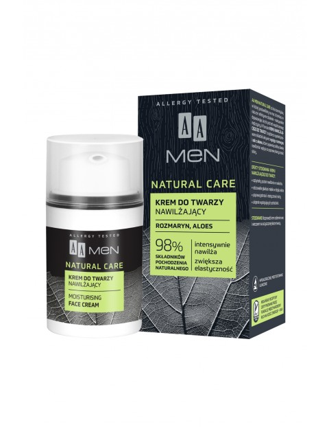AA Men Natural Care krem nawilżający 50 ml