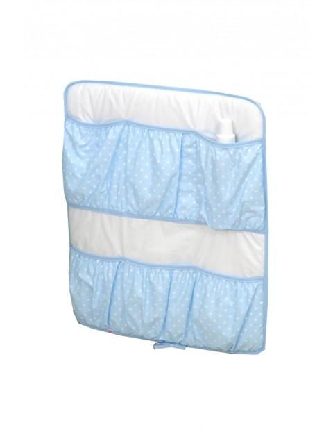 Przybornik na łóżeczko Amy Maxi Jeżyk Niebieski