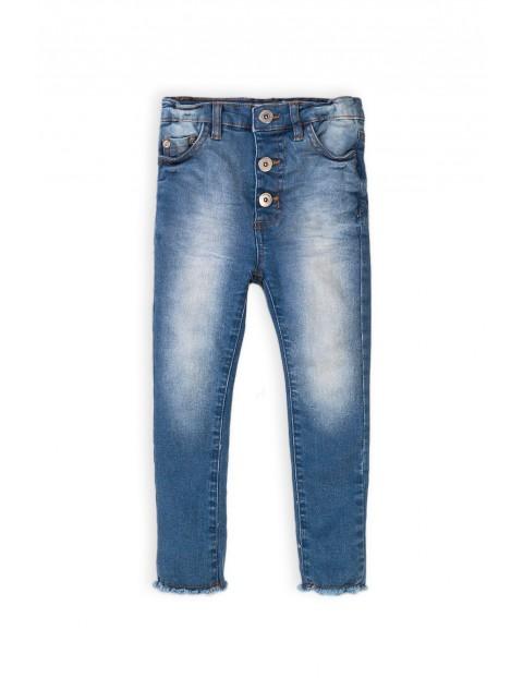 Spodnie dziewczęce jeansowe niebieskie