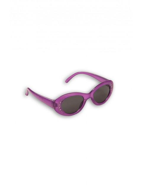 Okulary przeciwsłoneczne dla dziewczynki - fioletowe