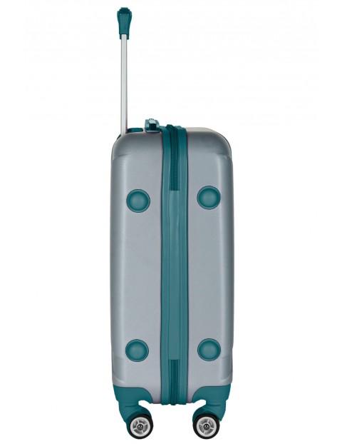 Średnia walizka PASO szara