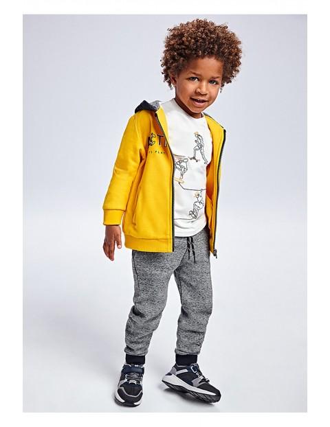 Komplet dresowy 3 częściowy - bluza z kapturem i 2 x spodnie dresowe
