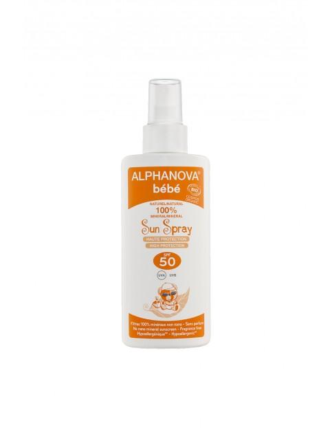 Spray na słońce SPF50+ Alphanova - 125g