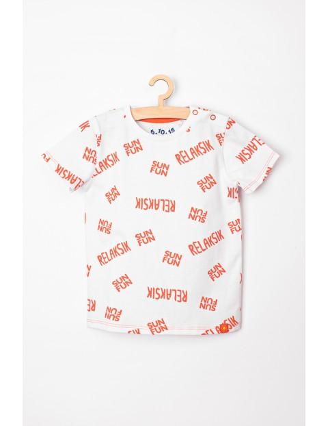 """T-shirt niemowlęcy """"Relaksik"""" - 100% bawełna"""